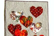 A - Have a Heart Quilt /             <3 <3 <3 / by Kathy C