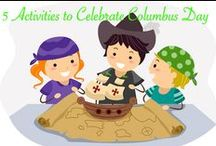 Columbus Day Teaching Resources / K-12 Activities, Worksheets, and Projects for Columbus Day