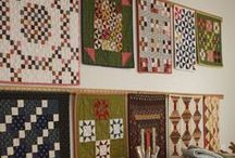 A - Small & Wall Quilts / by Kathy C