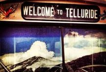 """this is telluride / """"In Telluride, the snow falling down, I was waking up in that sleepy little town."""" / by kate maccariello"""