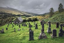 Churches And Cemeteries / by Anita Langford