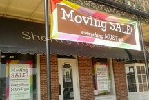 Moving sale! Come on in.  / Shara's Paperie is moving but we're not stopping what we do! We're just moving everything to online and by appointment only. So go to Shopconfections.com and see all of our personalized gift items!