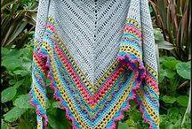 Sciarpe e scialli crochet