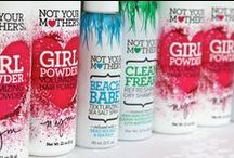 Not Your Mother's Products / Not Your Mother's offers essential hairstyling products with only the best ingredients and technologies for a truly cool and unique style. www.facebook.com/nymbrands    www.twitter.com/nymbrands / by Not Your Mother's Haircare