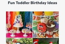 Birthday Parties / Birthday party ideas, inspiration, DIYs, and tips to celebrate kids of every age