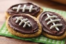 Super Bowl / Fun eats and games to make watching the Super Bowl with kids fun