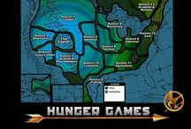 """Maps of Panem / Various maps I've found of Panem from the """"Hunger Games"""" trilogy."""