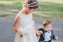 Kids at Weddings / Cute ideas and advice for kids at weddings