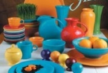 Homer Laughlin..Fiestaware / by Michele Bonotto