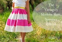 Sew Tutorials: Girls' Dresses & Skirts