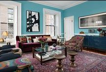 Boston Townhouse by Kati Curtis Design / Boston Townhouse interior design & renovation by Kati Curtis Design