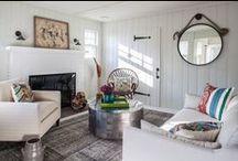 Hamptons Guest Cottage by Kati Curtis Design / Hamptons guest cottage interior design by Kati Curtis Design