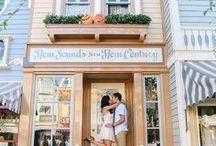 DISNEYLAND ENGAGEMENT / Disneyland Engagement Session