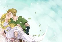Zelink (Skyword Sword) / I'm officially (Skyward Sword) Zelink trash. These two make me so happy (OTP) I just can't get enough of them two being so adorable together //>w<//