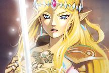 Zelda (Hyrule Warriors) / HW Princess Zelda that actually look like a Queen, she is not really a LOZ character for the series but they did an amazing job on her design