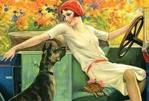 Art Deco Dog