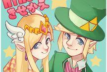 (Toon) Link & Zelda-Kyary Pamyu Pamyu