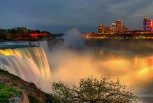 Niagara Falls.....my heart belongs there / As a kid EVERY summer was spent here, sometimes twice a year we would go.  If I could choose anywhere, I would live here.  Oh CANADA....... / by Tracy Chunat