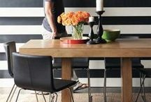 Tables and chairs  / Tables and chairs of different sizes and shapes you can make yourself