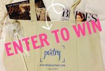 Beautiful Wedding Inspiration / Enter to Win a special Bride-to-be Gift Bag and Starbucks Gift Card from Poetry Booths! #Follow Poetry Booths, #PIN your fave Beautiful Wedding Inspo and ENTER TO WIN here: http://bit.ly/1chV0g2 / by Poetry Booths