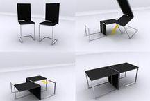 Convertible / multifunctional furniture / by Mama El Bu Fa