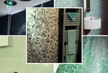 Colours - Mint / Thinking of using mint in your bathroom?  Look at these for some inspiration.