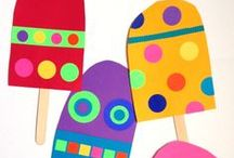 Arts & Crafts / Arts and crafts projects for the elementary classroom and for Moms and kiddos to do at home!
