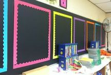 Classroom Decor / Ideas for bulletin boards, decorating, and organizing your elementary classroom