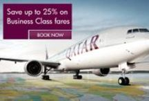 Business Class offers (December 2013) / Buy your next business class ticket and get the second one for FREE* along with 25% more Qmiles. Book by the respective dates based on your country (* Terms and conditions apply. Please review at the time of booking) / by Qatar Airways