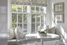 Window Treatments / Window treatments are the beautiful details that FINISH your home decor & design...So many #styles, so many #ideas but #ITSALLINTHEDETAILS!!! #windowtreatments #drapery #romanshades #shades #cafecurtains #curtains #panels #blackoutshades #4ptdcDesign4HomeWorkLife #4ptdc #inspiration #beautifuldetails