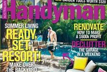 Australian Handyman Covers / Check out the covers for Australia's favourite DIY magazine and buy back issues online