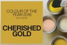 Metallics - Gold / Dulux Colour of the Year for 2016