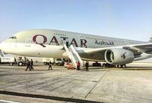 Qatar Airways at the Dubai Airshow 2015 / The finest aircraft in the Qatar Airways fleet is on display at the Dubai Airshow 2015. Photos pinned from Twitter and Instagram. / by Qatar Airways