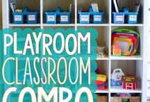 Homeschool Room / Set up the perfect learning environment for your little learners at home
