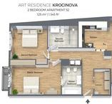 Apartments Floorplans / The most beautiful floorplans of our apartments for your inspiration!