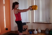 Weights/Kettlebells/Swissball workouts / Workouts that includes equipment such as weights, kettlebells, swissballs, resistance bands, medicine balls and so on.   / by Faith Fitness and Nutrition