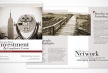 BROCHURES / FOLLETOS / The best brochures designed by www.madridnyc.com. Los mejores folletos diseñadas por www.madridnyc.com