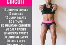 Workouts / A collection of some of the best workouts on Pinterest. Many I've tried. Many I am too scared to try!