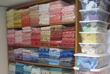 Fabrics to the ole stash/Organise IT / by Susan Templin