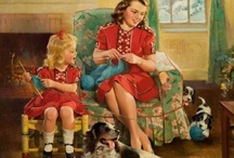 VINTAGE HOMEMAKING / Just a look at the difference between the homemakers of yesterday & today / by Joyce Satcher