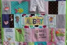 Baby Clothes Quilts - QuiltKeepsake.com / Baby Clothes Quilts - Recycle your baby clothes