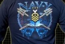 NAVY SHIRTS & APPAREL / by Sarge Strike
