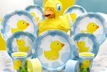 rubber ducky baby shower / by Becky Varney