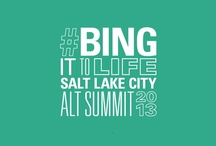 Alt Design Summit #BingItToLife / Bing brings blogger design creations and inspirations to life.  / by Bing
