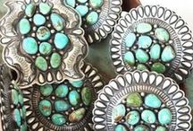 Silver n' Turquoise / by Shelli Guetz