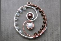 CREATION: Wire-wrapping / by Anne-Laure Ramolet