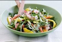 Salad inspiration / Ideas for salads & quick prep for lunches