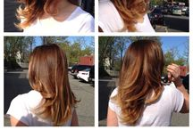 HAIR COLOR -(BALAYAGE & MORE) / Hair color, Balayage, Highlights, Foils, Ombre, Sombre, Transitional Color, Glaze, Gloss, Paint, Sweep, Stripe, Soften, Lighten, Deepen, Tone, Shine Etc.