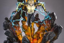 Figurines mangas/animes