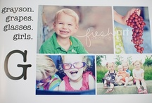 Photo Book Ideas / I make a digital photo book for each of my kids each year! These are some of my favorite ideas for those books.